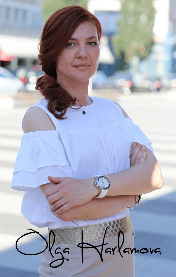Olga Harlamova Kontaktformular